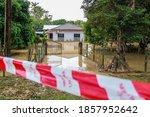 Flash Flood Damaged House Due...