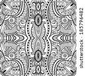 abstract tribal ethnic...   Shutterstock .eps vector #185796482
