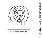 creative collaboration linear...   Shutterstock .eps vector #1858052848