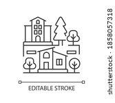 neighborhood pixel perfect...   Shutterstock .eps vector #1858057318