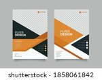 creative and clean abstract... | Shutterstock .eps vector #1858061842