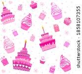 Happy Birthday. Seamless...