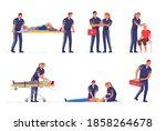 medical emergency paramedic...   Shutterstock .eps vector #1858264678