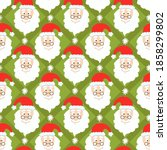 vector seamless pattern with... | Shutterstock .eps vector #1858299802