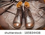 Fashionable Leather Boots And...