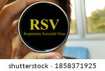 infectious doctor warning about ...   Shutterstock . vector #1858371925
