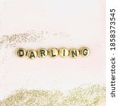 Darling Beads Lettering Word...