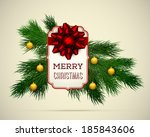 """merry christmas"" greeting tag... 