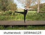 Male Mid Size Ballet Dancer In...