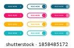 read more modern buttons set....   Shutterstock .eps vector #1858485172