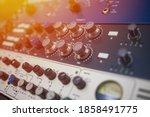 Recording room compression room ...