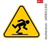 Tripping Hazard Warning Sign....
