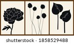 a set of three abstract...   Shutterstock .eps vector #1858529488