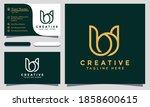 Modern Creative Bw Logo Design...