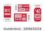 set of template coupon.... | Shutterstock .eps vector #1858633318