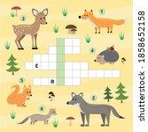 a colorful children's cartoon... | Shutterstock .eps vector #1858652158