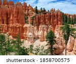 View To The Rocky Hoodoos On...
