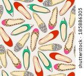 Seamless Shoes Pattern