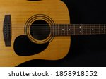 Classic Wooden Acoustic Guitar...