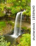 minnehaha falls near...   Shutterstock . vector #18589640