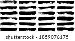 set of vector brush strokes.... | Shutterstock .eps vector #1859076175