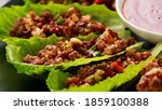 Chilli Beef Lettuce Wraps With...