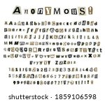 Anonymous Criminal Letters Cut...