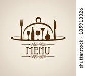 illustration of template for... | Shutterstock .eps vector #185913326