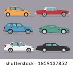 car icon vector logo template.... | Shutterstock .eps vector #1859137852