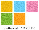 the seamless pattern made out... | Shutterstock .eps vector #185915432