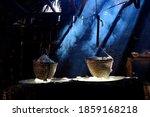 Ancient Method Of Boiling Brine ...