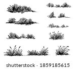 grass sketch architect drawing  ... | Shutterstock .eps vector #1859185615