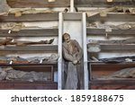 Mummified Remains In The...