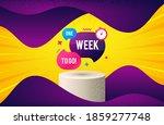 one week offer bubble banner.... | Shutterstock .eps vector #1859277748