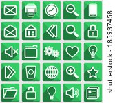 set of flat icons with long...   Shutterstock .eps vector #185937458