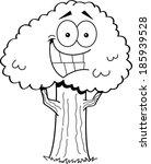 black and white illustration of ... | Shutterstock .eps vector #185939528