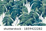 botanical seamless pattern ... | Shutterstock .eps vector #1859422282