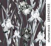 illustration pencil. iris...   Shutterstock . vector #1859435455