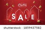 christmas sale banner...   Shutterstock .eps vector #1859437582