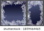 Vector Frozen Frost Background...