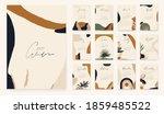 2021 calendar design in... | Shutterstock .eps vector #1859485522