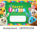 happy easter greeting card... | Shutterstock .eps vector #1859551258