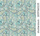 paisley pattern  great vector... | Shutterstock .eps vector #1859560135