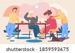 best friends are spending...   Shutterstock .eps vector #1859593675