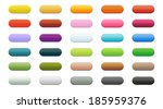 set of 30 buttons in different... | Shutterstock .eps vector #185959376