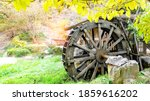Old Waterwheel In The River In...