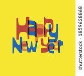 mid century modern  retro and... | Shutterstock .eps vector #1859628868