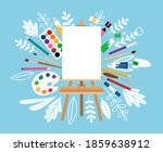 Easel For Painting Workshop....