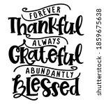 forever thankful  always... | Shutterstock .eps vector #1859675638