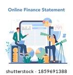financial analyst online...   Shutterstock .eps vector #1859691388